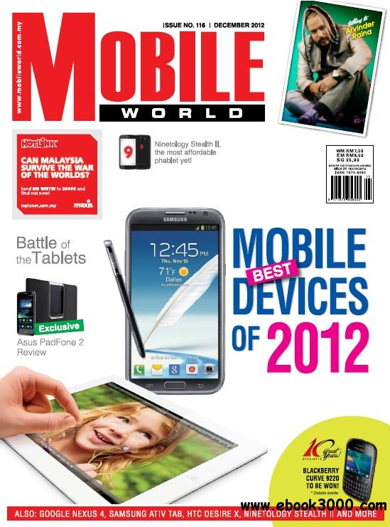 Mobile World Magazine - December 2012 free download