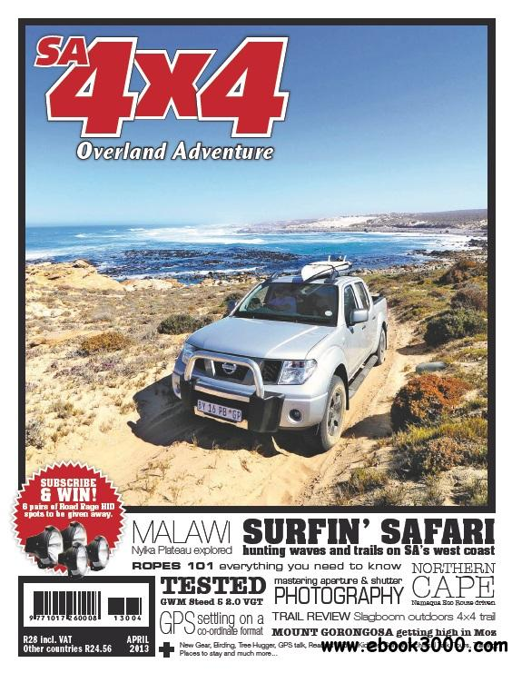 SA4x4 - April 2013 free download