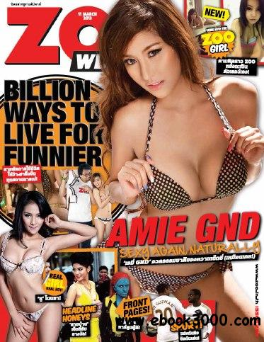 Zoo Weekly Thailand - 11 March 2013 free download