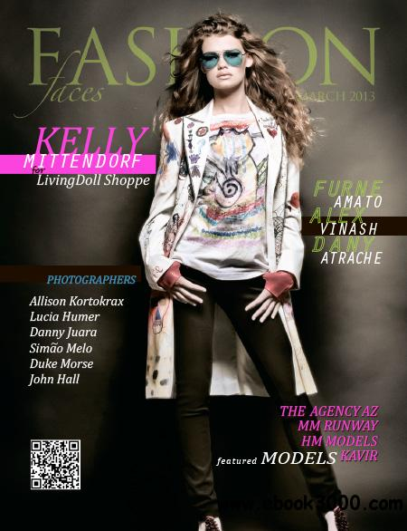 Fashion Faces - March 2013 free download