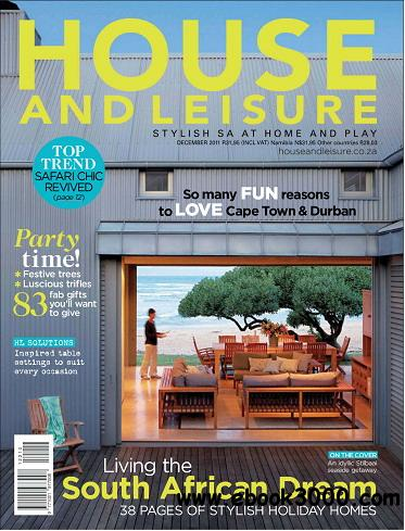 House and Leisure Magazine December 2011 free download