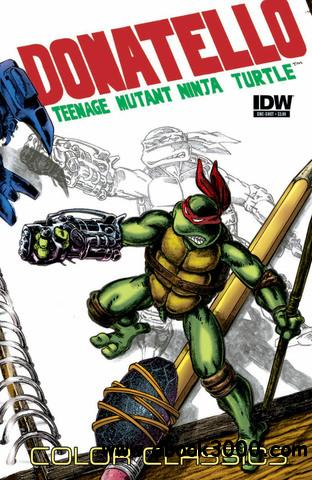 Teenage Mutant Ninja Turtles Color Classics Micro Series 003 - Donatello (2013) free download