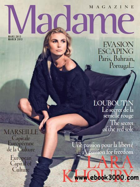 Madame Magazine - March 2013 free download