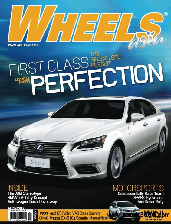 Wheels Asia - March 2013 free download