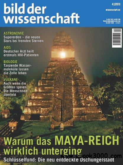 Bild der Wissenchaft Magazin April No 04 2013 free download