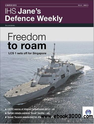 Jane's Defence Weekly Magazine March 06, 2013 free download