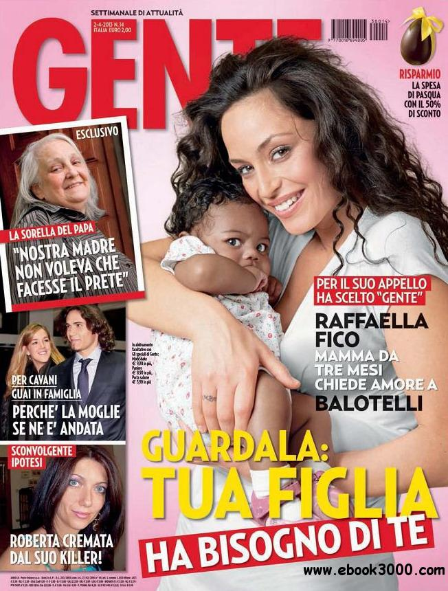Gente No.14 - 02 Aprile 2013 free download