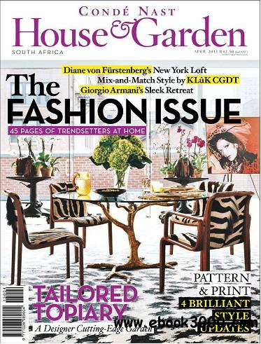 Conde Nast House & Garden Magazine April 2013 free download