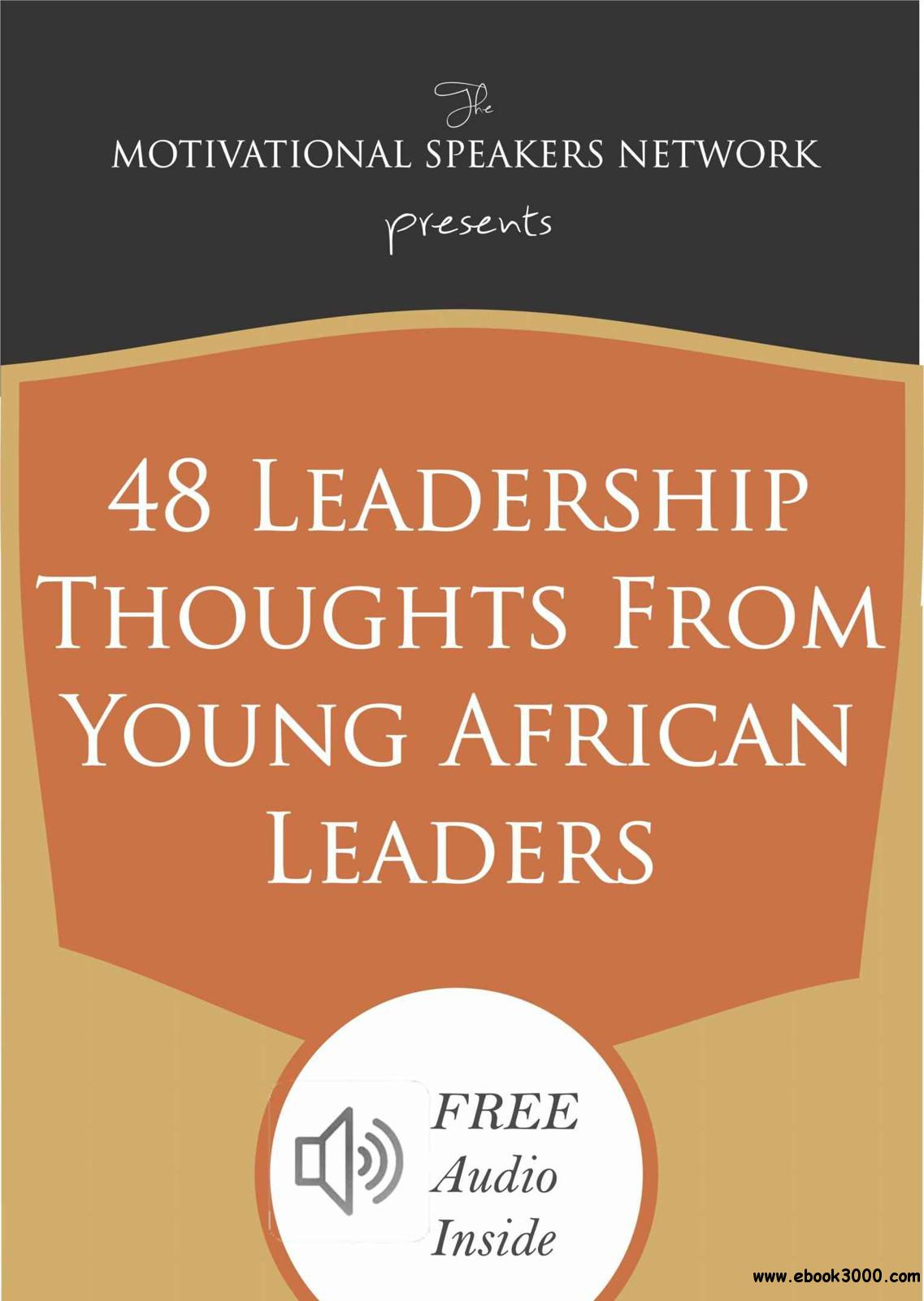 48 Leadership Thoughts from Young African Leaders free download