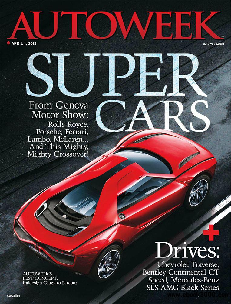 Autoweek 1 April 2013 (USA) download dree