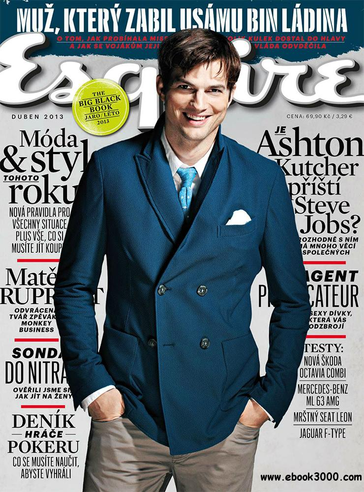 Esquire April 2013 (Czech Republic) free download