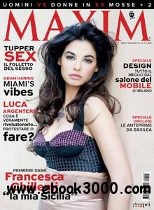 Maxim Italy - Aprile 2013 free download