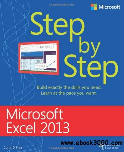 Microsoft Excel 2013 Step by Step free download
