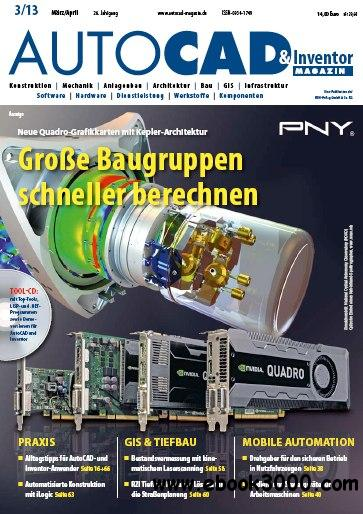 AUTOCAD & Inventor Magazin Germany - Marz/April 2013 free download