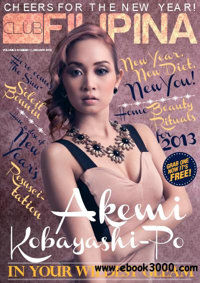 Club Filipina - January 2013 free download