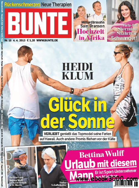 Bunte Ausgabe Nr.15 - 4 April 2013 free download