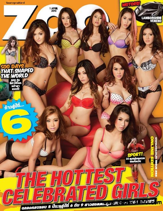 Zoo Weekly Thailand - 01 April 2013 free download