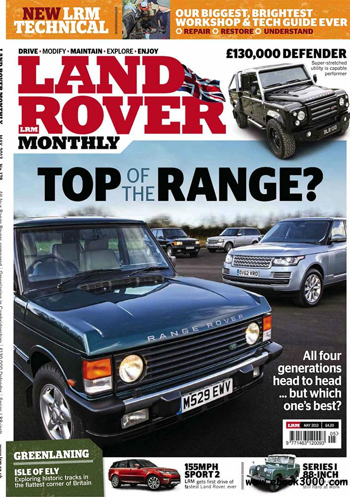 Land Rover Monthly May 2013 (UK) download dree
