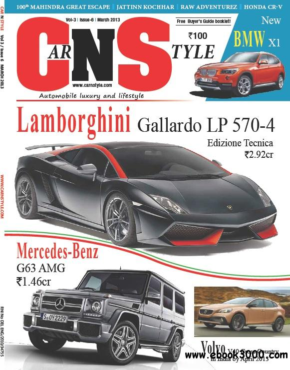 Car N Style - March 2013 free download