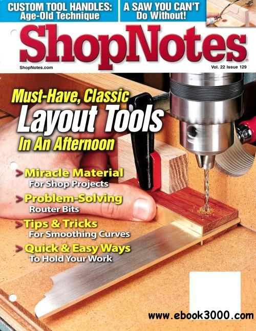 ShopNotes Issue #129 (May - June 2013) free download