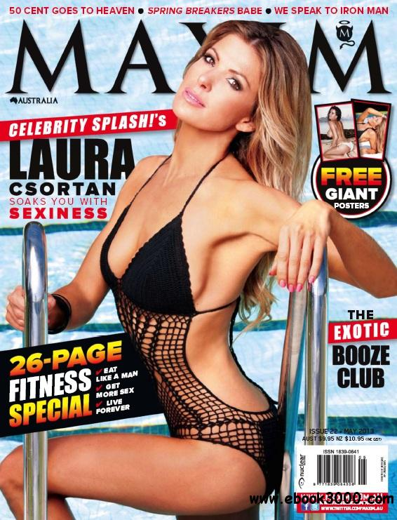 Maxim Australia - May 2013 free download
