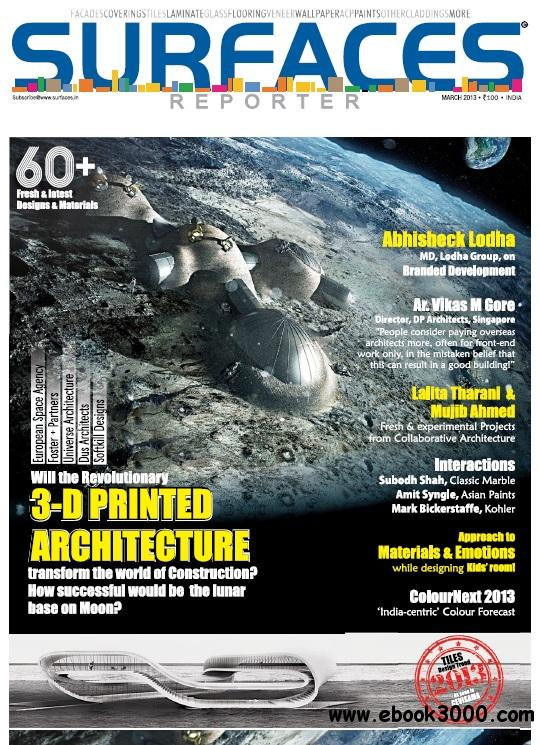 Surfaces Reporter - March 2013 free download