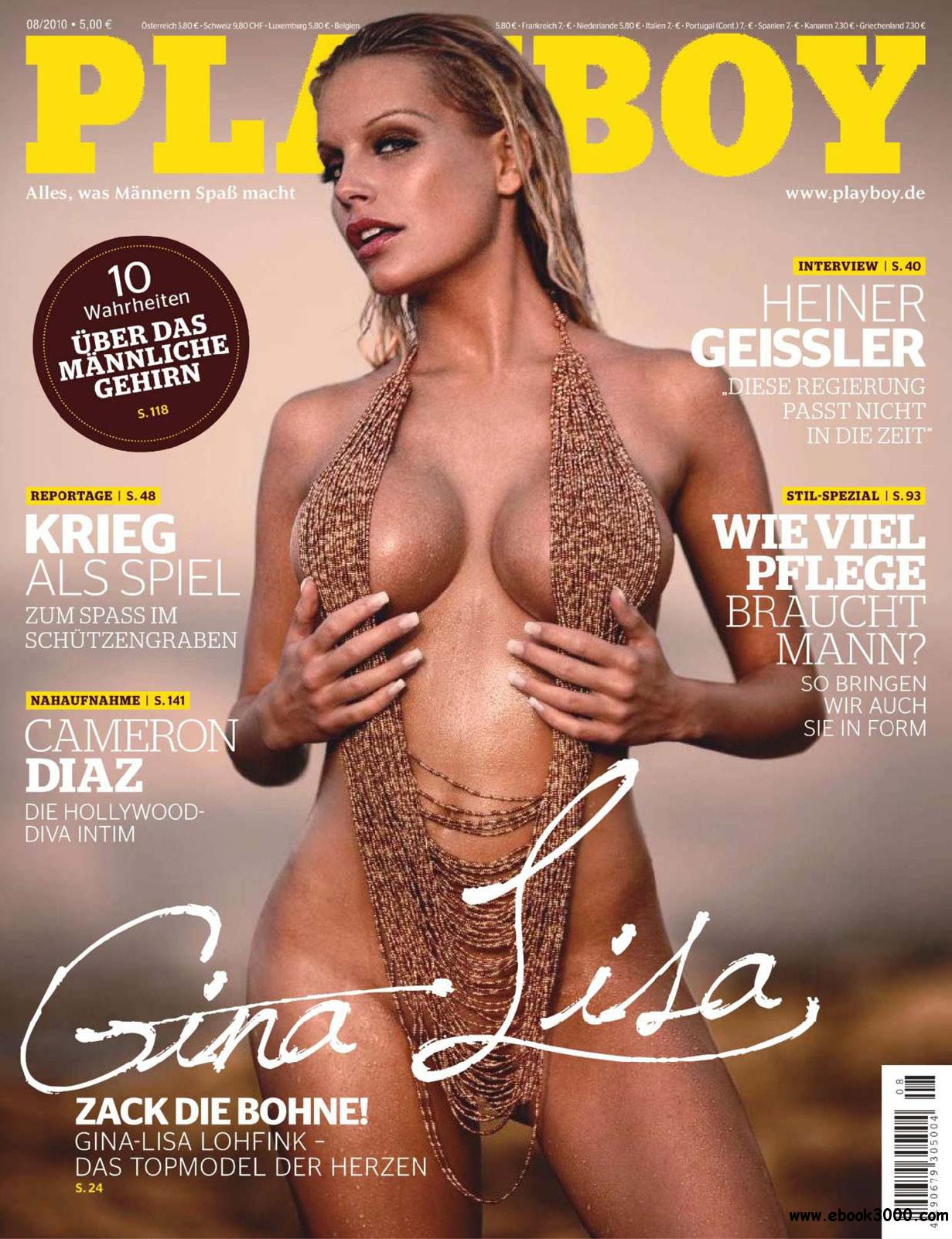 Playboy Germany - August 2010 free download