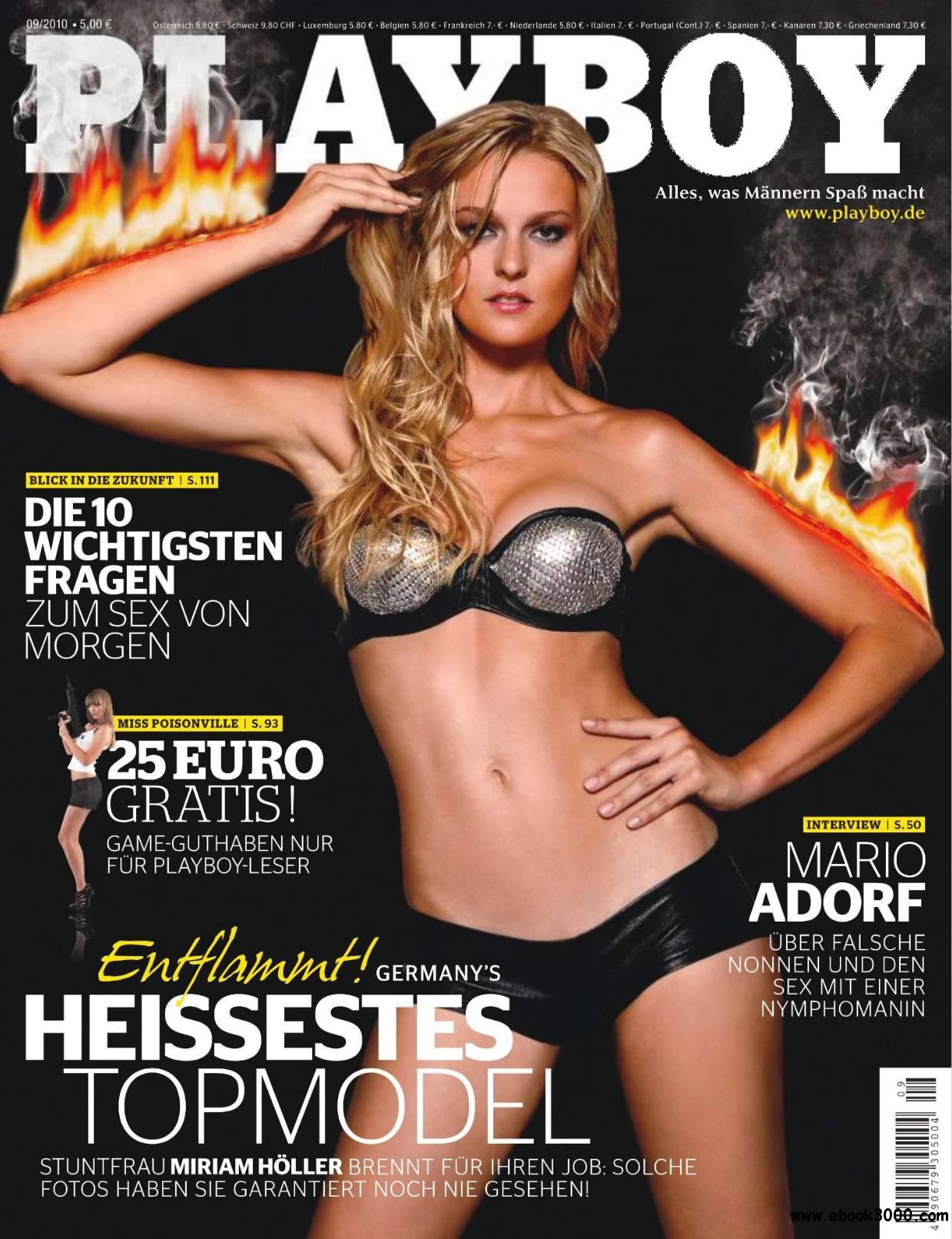Playboy Germany - September 2010 free download