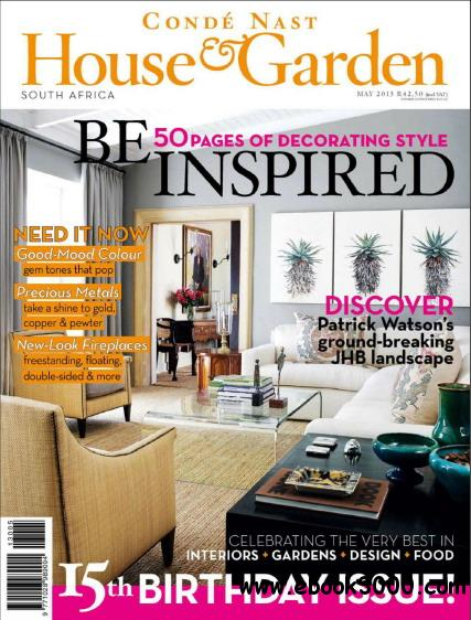 Conde Nast House & Garden Magazine May 2013 free download