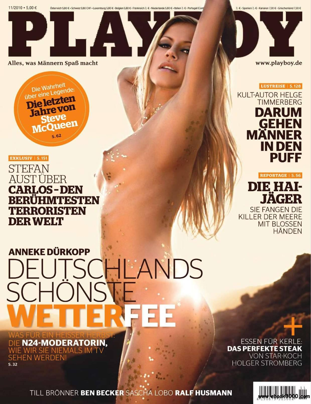 Playboy Germany - November 2010 free download