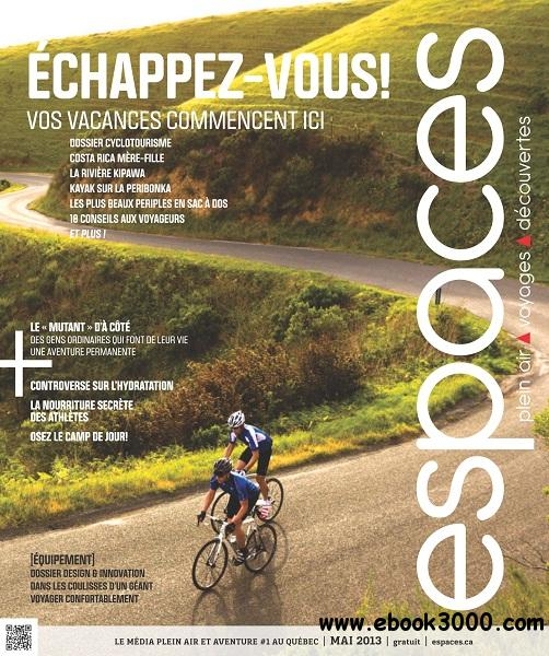 Espaces - Mai 2013 free download