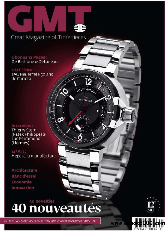 GMT N 31 - Printemps-Spring 2013 free download