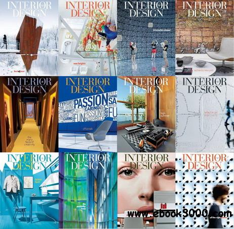 Interior Design Magazine 2012 Full Collection