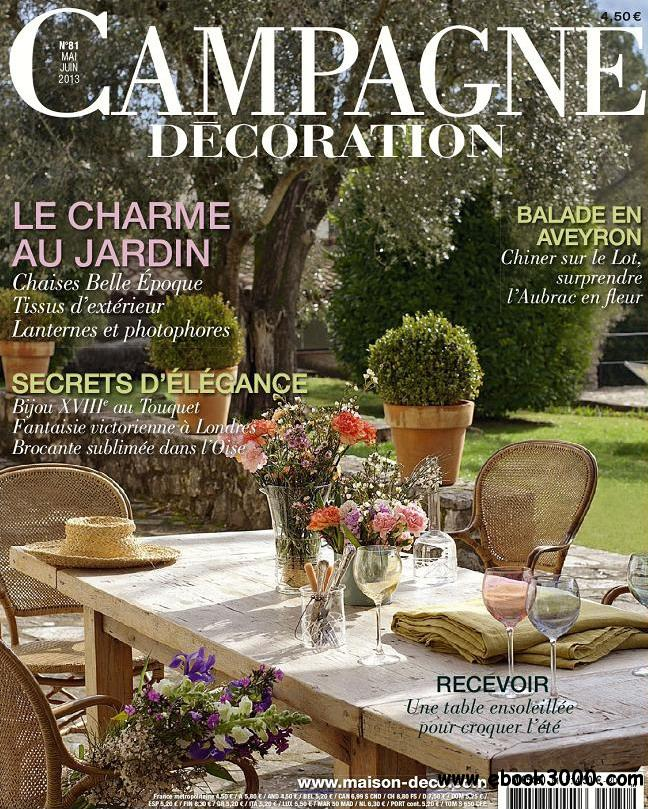 Campagne Decoration No.81 - Mai/Juin 2013 free download