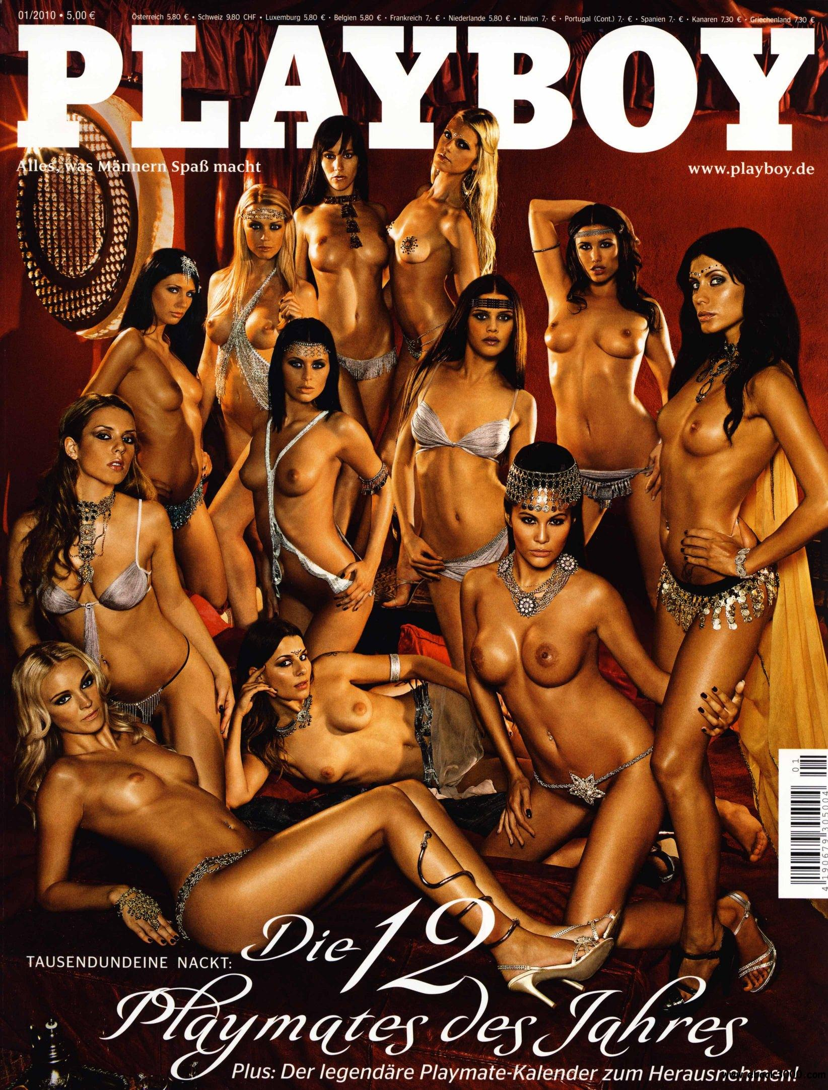 Playboy Germany - January 2010 free download