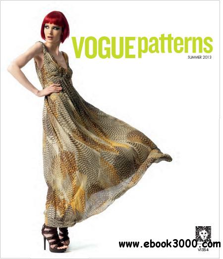 Vogue Patterns - Summer 2013 free download