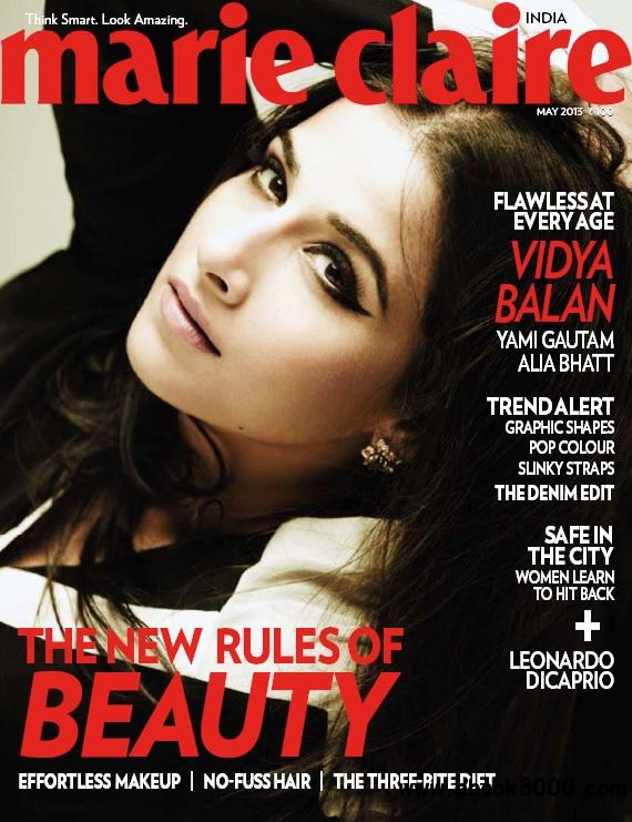 Marie Claire India - May 2013 free download