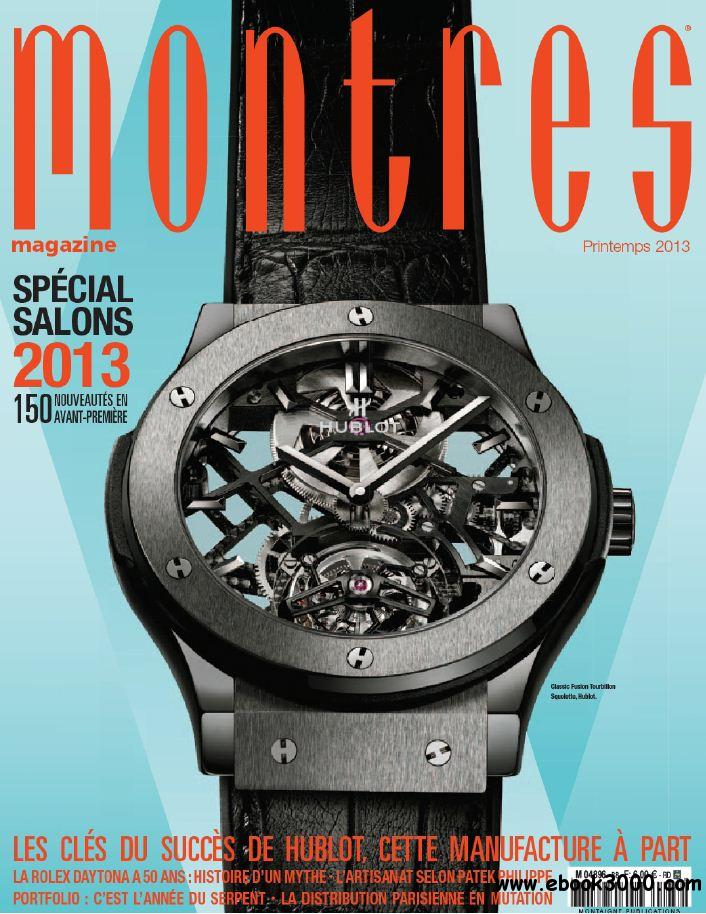 Montres N 88 - Printemps 2013 free download