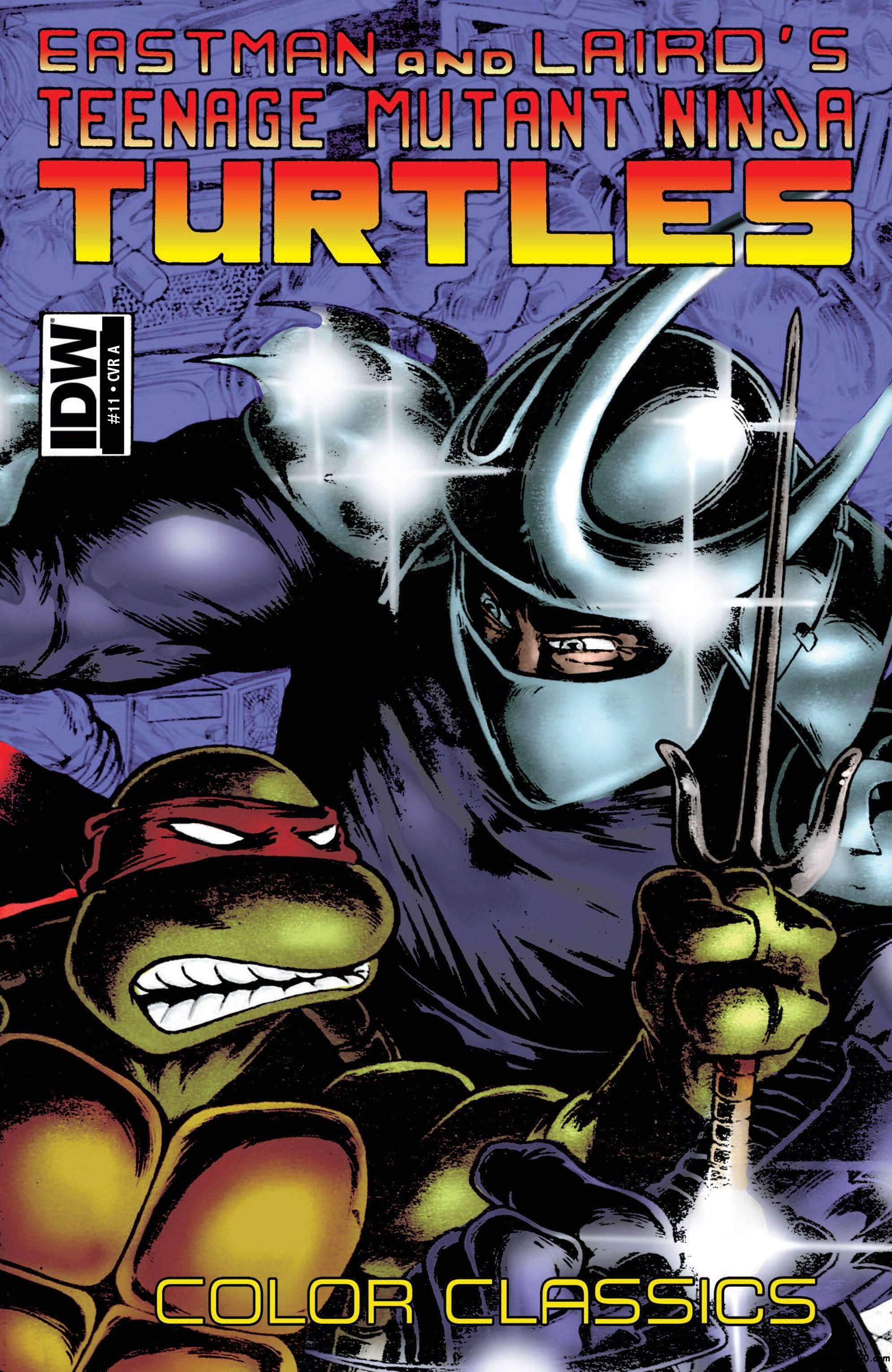 Teenage Mutant Ninja Turtles Color Classics 010 (2013) free download