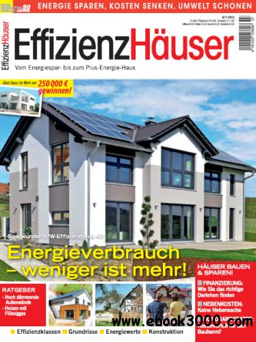 Effizienzhaeuser Magazin Juni Juli No 06 07 2013 free download
