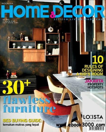 Home & Decor Indonesia Magazine May 2013 free download