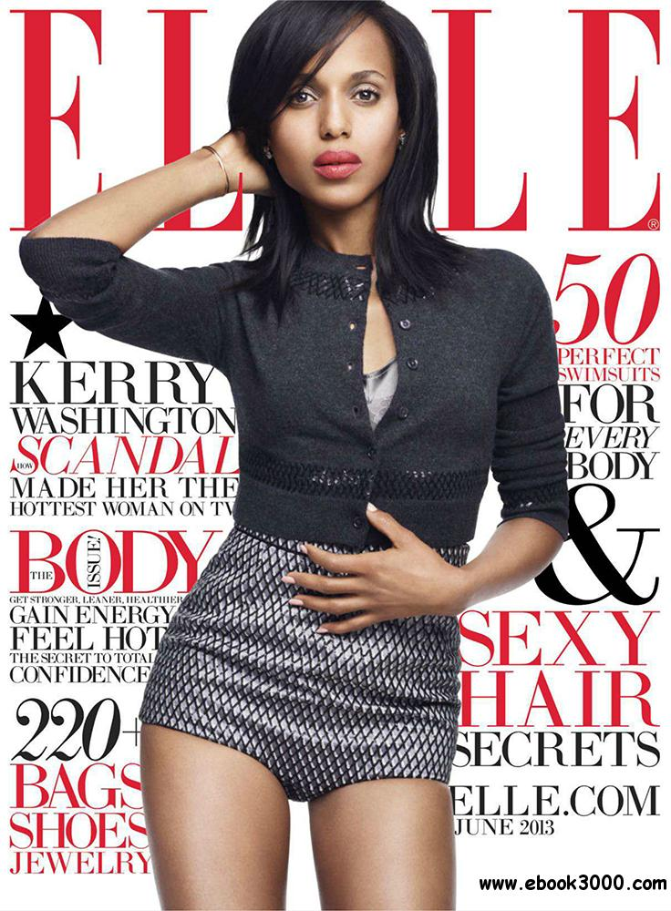 Elle June 2013 (USA) free download