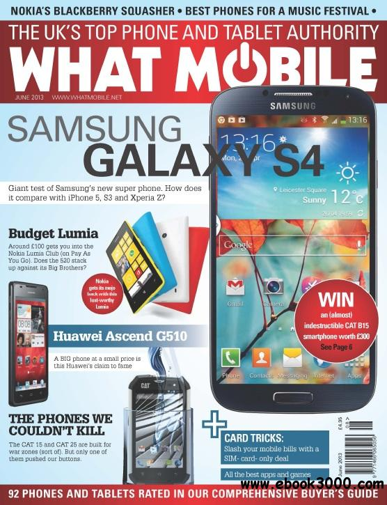 What Mobile - June 2013 free download