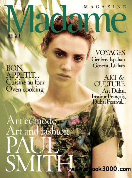 Madame Magazine - April 2013 download dree