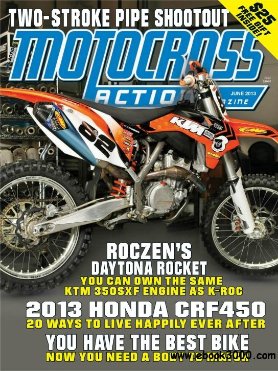 Motocross Action - June 2013 free download