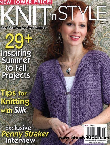 Knit N Style - Issue 186 August 2013 free download