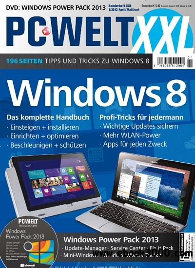 PC-WELT Sonderheft XXL: Windows 8 April/Mai/Juni 01/2013 free download