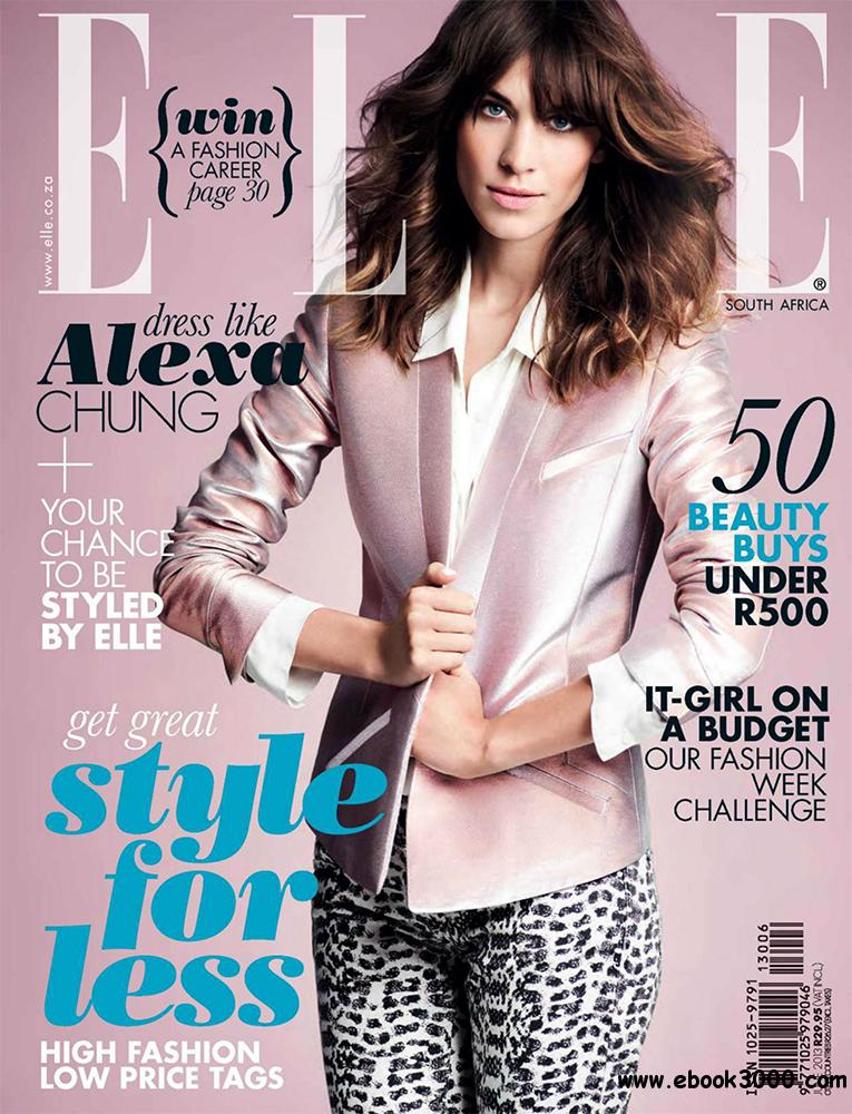 Elle June 2013 (South Africa) free download