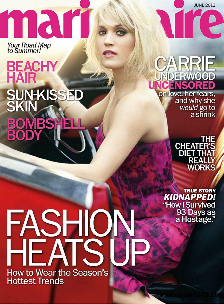Marie Claire June 2013 (USA) free download