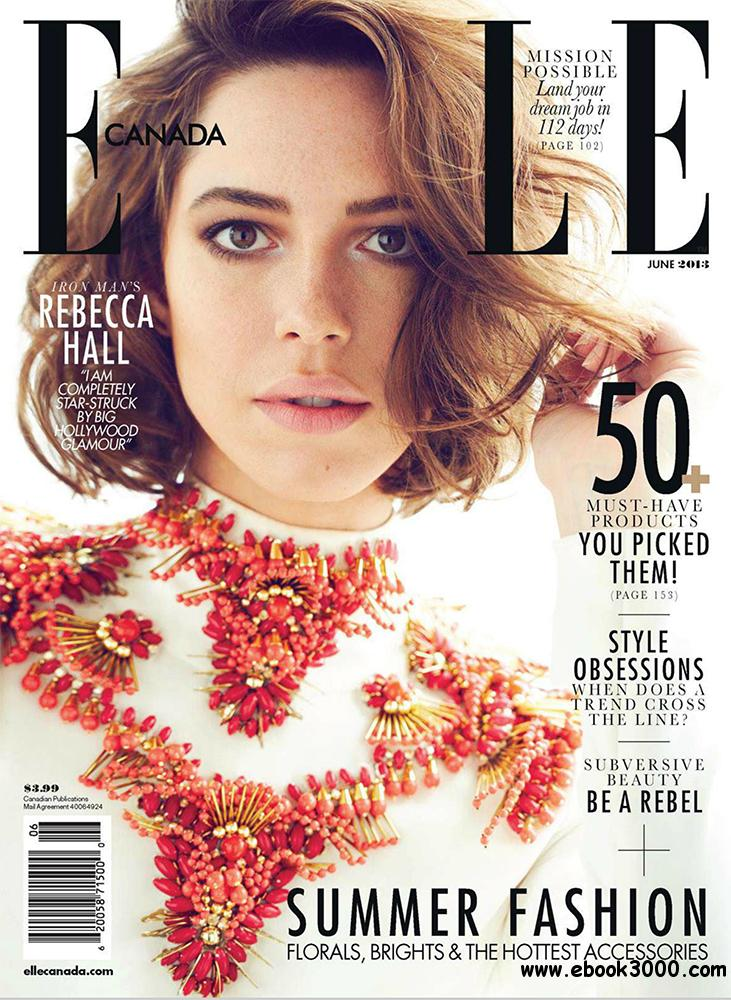 Elle June 2013 (Canada) free download